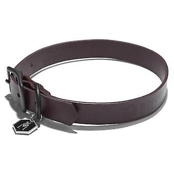 Wolfgang Latigo Leather Collar XL Brown