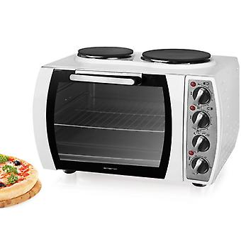 Emerio Stove with 2 cooking plates White