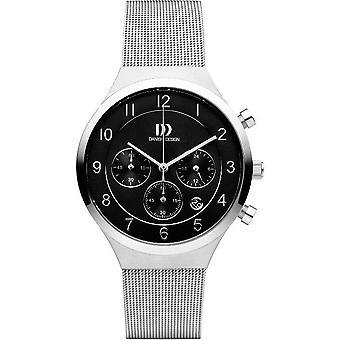 Dansk design mens klocka kronograf IQ63Q1113