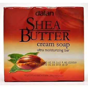 Dalan Ultra Moisturizing Soap Shea Butter 3-Pack 3x90g