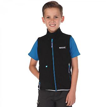 Regatta Boys & Girls Kaluga Softshell Mid Layer Gilet Bodywarmer
