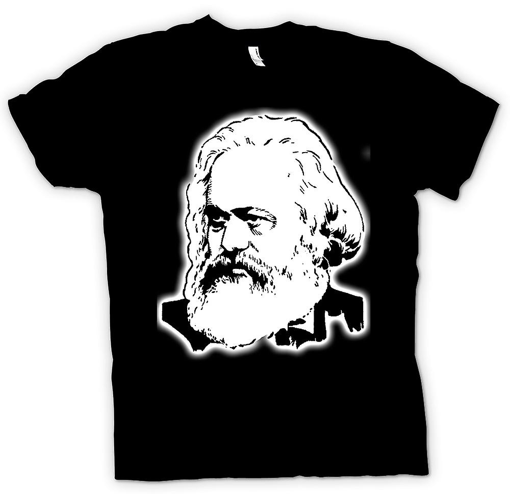 Mens t-shirt - Karl Marx - icona