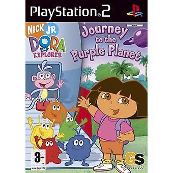 Dora Explorer Reise zu den lila Planeten (PS2)