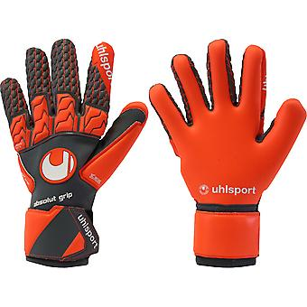 UHLSPORT AERORED ABSOLUTGRIP RELFEX  Goalkeeper Gloves Size