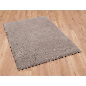 Gezellige 71381 80 Taupe rechthoek tapijten Plain/bijna gewoon tapijten