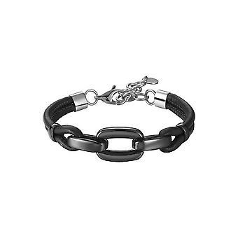 ESPRIT women's textile bracelet stainless steel Marin black ESBR11609A170