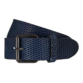 Strellson belts men's belts leather belt blue 5923