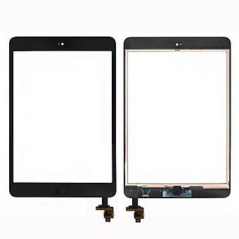 Touch screen display Home button IC chip for Apple iPad mini 1 + 2 + adhesive pad black