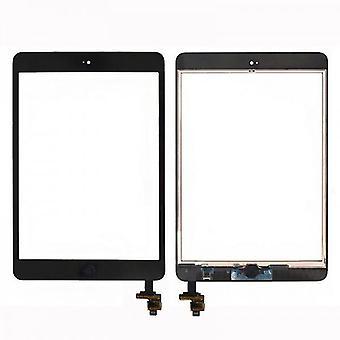 Écran tactile d'affichage puce IC le bouton Home pour Apple iPad mini 1 + 2 + noir coussinet adhésif