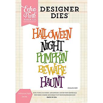 Echo Park Dies-Halloween Night Word