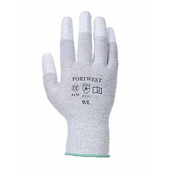 Portwest - Antistatic PU Fingertip Gloves (1 Pair Pack)
