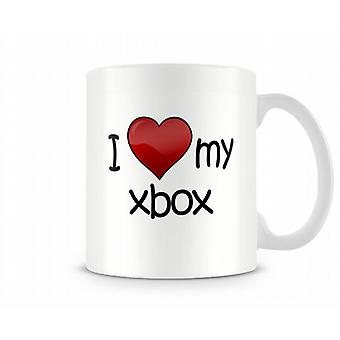 I Love My Xbox Printed Mug