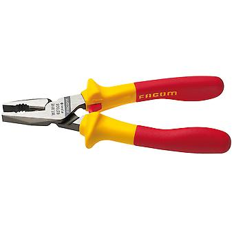 Facom 187.18Ve 185Mm Combination Pliers Insulated 1000V Vde