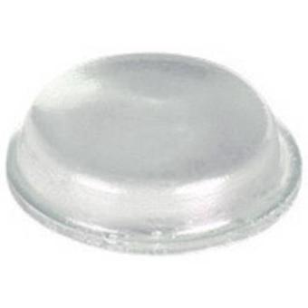 PB sujetador BS-01-CL-R-10 pie transparente auto-adhesivo, circular (Ø x H) 12,7 x 3,5 mm 10 PC