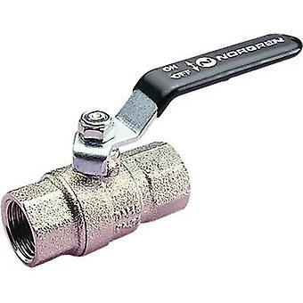Ball valve 602112228 Norgren Internal thread: 1/4 External thread: 1/4 45 bar (max)