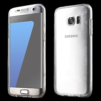Crystal case cover for Samsung Galaxy S7 edge transparent full body