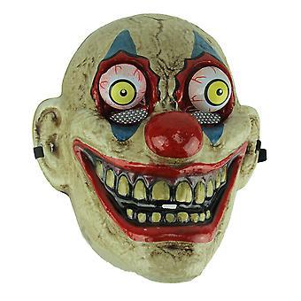 Blue Eye gamle ser skumle Googly-Eyed klovn maske