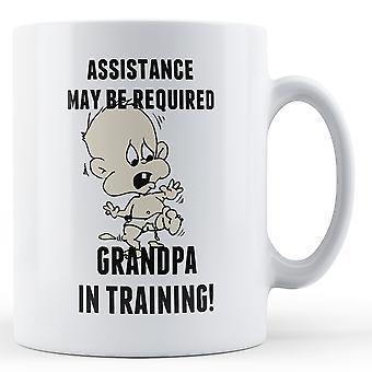 Dziadek w szkolenia - kubek z nadrukiem