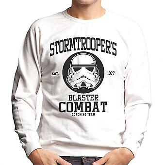 Moletom treinador equipe masculina de combate original Stormtrooper Blaster