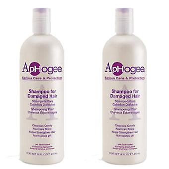 Aphogee Shampoo For Damaged Hair 16oz (2 Pack)