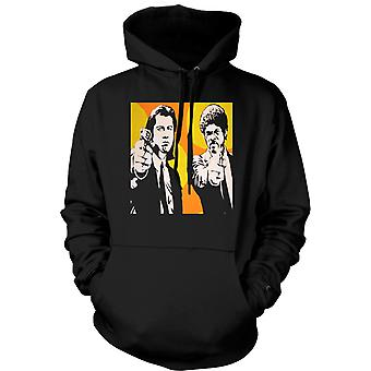 Womens Hoodie - Pulp Fiction - Pop Art - Vincent & Jules