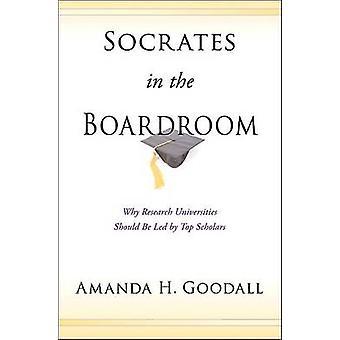 Sócrates en la sala de juntas - por qué investigación universidades debe ser conducido por