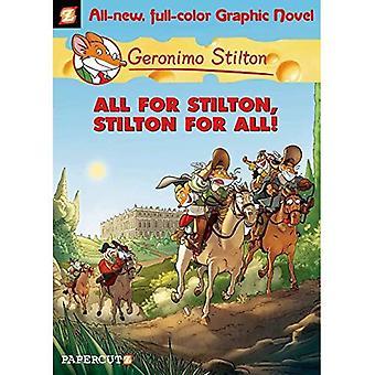 Geronimo Stilton 15 tous pour Stilton et Stilton pour tous (Geronimo Stilton Graphic Novels)