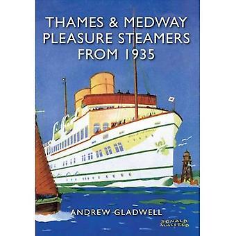Tamise et la Medway plaisir Steamers de 1935