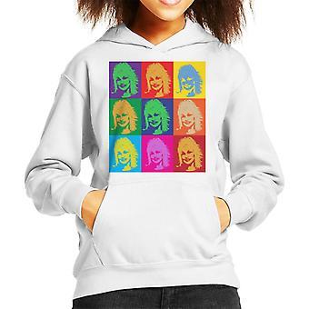 Dolly Parton Andy Warhol Kid's Hooded Sweatshirt