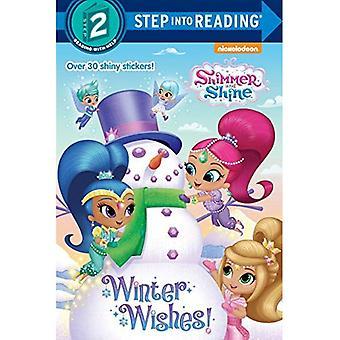 Voeux hiver! (Reflets et brillance) (Pas dans la lecture - niveau 2)
