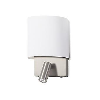 Rack væglys med læselampe - Leds-C4 05-5447-81-14