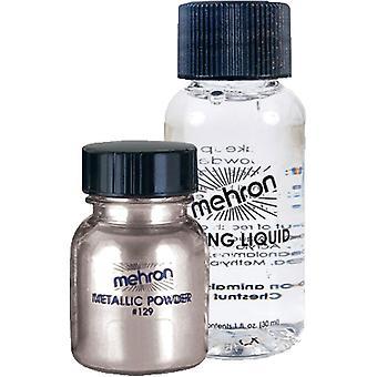 Metallic Silver Liquid Powder