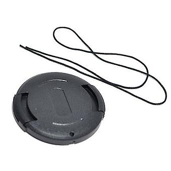 Dot.Foto 43mm Snap On Lens Cap with string / leash for Panasonic HDC-DX1, HDC-HS20, HDC-HS25, HDC-HS200, HDC-HS250, HDC-HS300, HDC-SD1, HDC-SD20, HDC-SD200, HDC-SD300, HDC-TM20, HDC-TM300, HDC-TM350