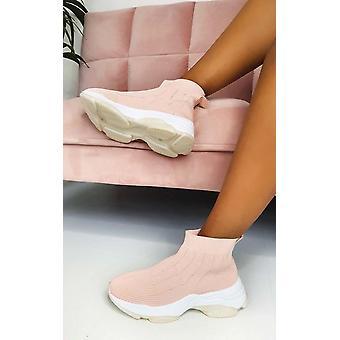 IKRUSH Womens London ziehen auf Socken Trainer