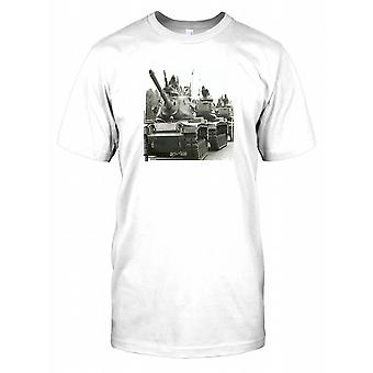 Kolde krig kampvogne - mekaniseret Herre T-shirt