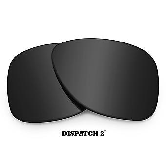 DISPATCH 2 Replacement Lenses Classic Grey by SEEK fits OAKLEY Sunglasses