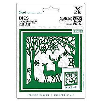 Xcut Dies Winter Forest (2pcs) (XCU 503361)
