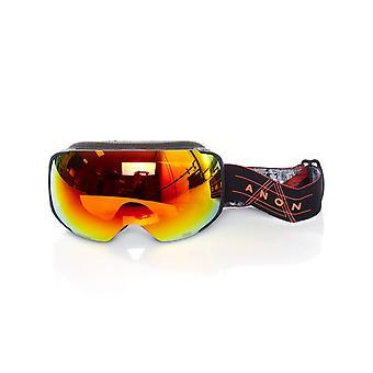 Anon Redplanet-Sonar Red 2019 M2 - With MFI Facemask Snowboarding Goggles