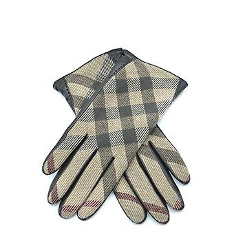 Burberry Multicolor Leather Gloves