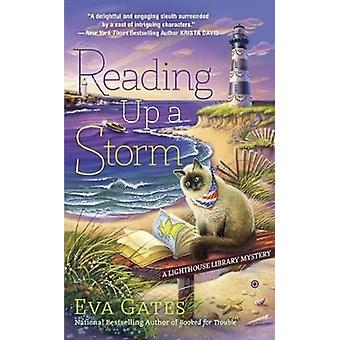 Reading Up A Storm - A Lighthouse Library Mystery by Eva Gates - 97804