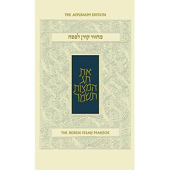 Koren Sacks Pesah Mahzor by Jonathan Sacks - 9789653016644 Book