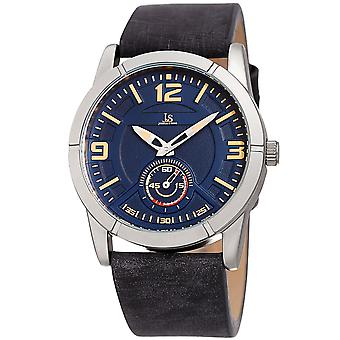Joshua & Sons JX135SSBU 60 Second Sub Dial Geniune Leather Strap