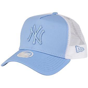 New Era Damen Trucker Cap - New York Yankees sky blue