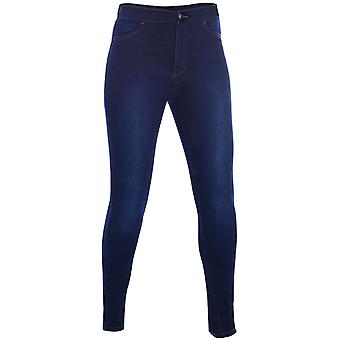 Oxford Indigo Super Jeggings - Long Womens Motorcycle Jeans