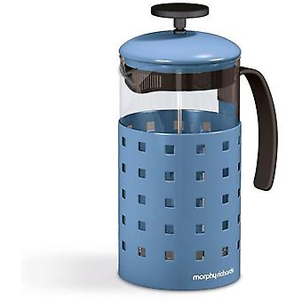 Morphy Richards 8 Cup Cafetiere 1000ML - Blue
