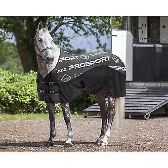 LeMieux Lemieux Carbon Horse Cooler Rug - Black