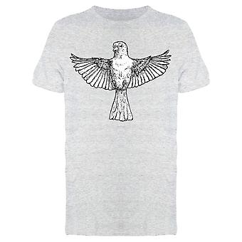 Sketch A Sparrow Tee Men's -Image by Shutterstock