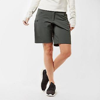 New adidas Women's Trail Cross Shorts Grey