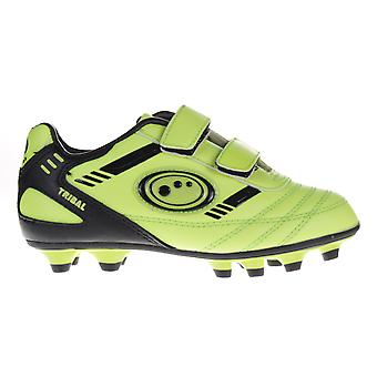 Optimum Tribal Strap Moulded Kids Football Boot Yellow/Black