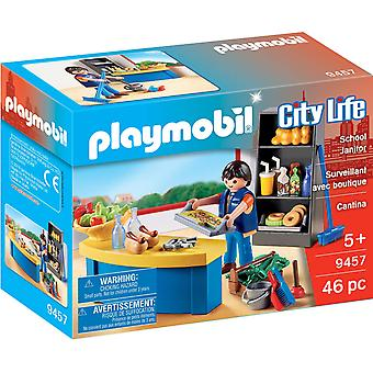 Playmobil 9457 City Life School Janitor with Tool Box